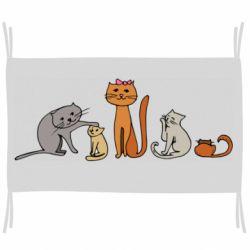 Флаг Cat family