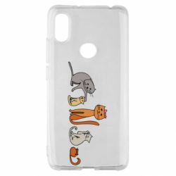 Чехол для Xiaomi Redmi S2 Cat family