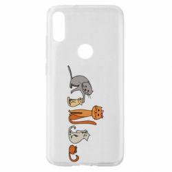 Чехол для Xiaomi Mi Play Cat family