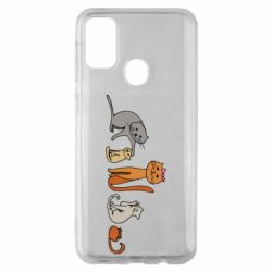 Чехол для Samsung M30s Cat family
