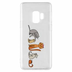 Чехол для Samsung S9 Cat family
