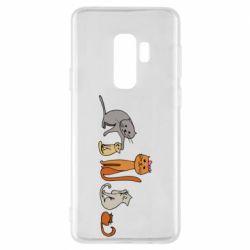 Чехол для Samsung S9+ Cat family