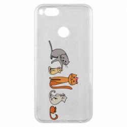 Чехол для Xiaomi Mi A1 Cat family
