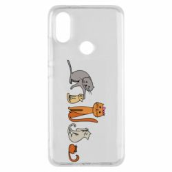 Чехол для Xiaomi Mi A2 Cat family