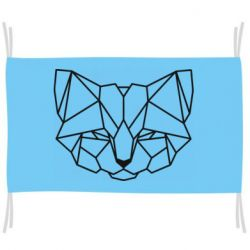 Прапор Cat heads low poly