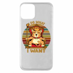 Чехол для iPhone 11 Cat king