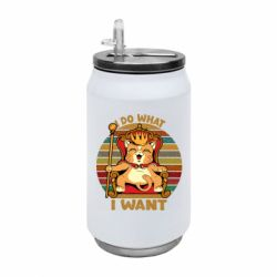 Термобанка 350ml Cat king