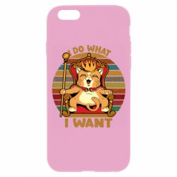 Чехол для iPhone 6/6S Cat king