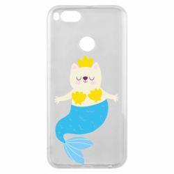 Чехол для Xiaomi Mi A1 Cat-mermaid