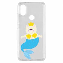 Чехол для Xiaomi Mi A2 Cat-mermaid