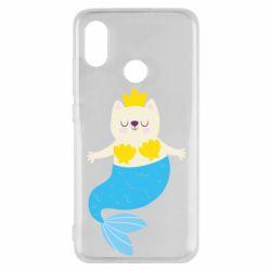 Чехол для Xiaomi Mi8 Cat-mermaid