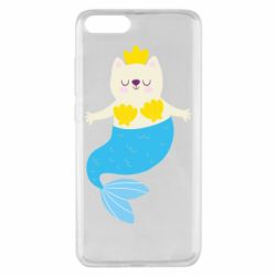 Чехол для Xiaomi Mi Note 3 Cat-mermaid