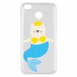 Чехол для Xiaomi Redmi 4x Cat-mermaid