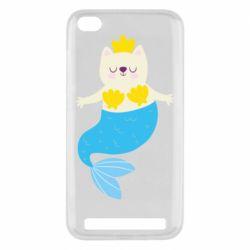 Чехол для Xiaomi Redmi 5A Cat-mermaid