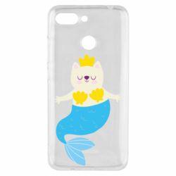 Чехол для Xiaomi Redmi 6 Cat-mermaid