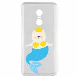 Чехол для Xiaomi Redmi Note 4x Cat-mermaid