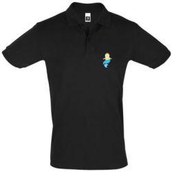 Мужская футболка поло Cat-mermaid
