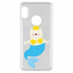 Чехол для Xiaomi Redmi Note 5 Cat-mermaid