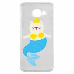 Чохол для Samsung A3 2016 Cat-mermaid