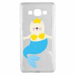 Чохол для Samsung A5 2015 Cat-mermaid
