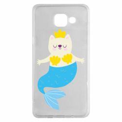 Чохол для Samsung A5 2016 Cat-mermaid