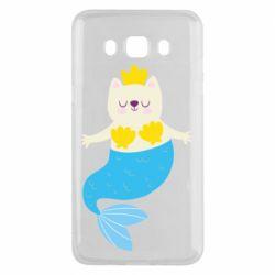 Чохол для Samsung J5 2016 Cat-mermaid