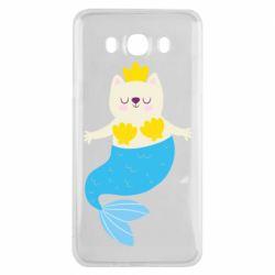 Чохол для Samsung J7 2016 Cat-mermaid