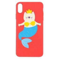 Чохол для iPhone Xs Max Cat-mermaid