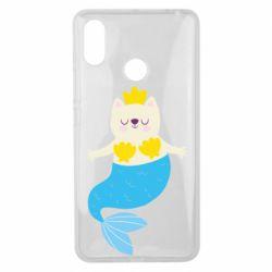 Чехол для Xiaomi Mi Max 3 Cat-mermaid