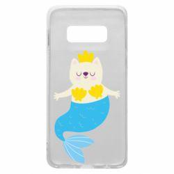 Чохол для Samsung S10e Cat-mermaid