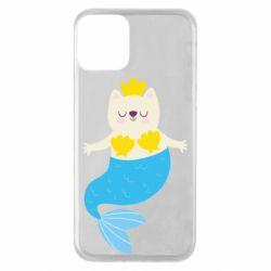Чохол для iPhone 11 Cat-mermaid