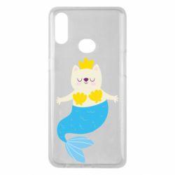 Чохол для Samsung A10s Cat-mermaid