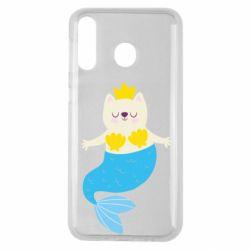 Чохол для Samsung M30 Cat-mermaid