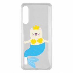 Чохол для Xiaomi Mi A3 Cat-mermaid