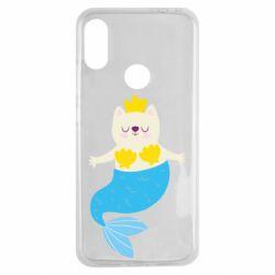 Чехол для Xiaomi Redmi Note 7 Cat-mermaid
