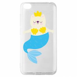 Чехол для Xiaomi Redmi Go Cat-mermaid