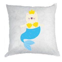 Подушка Cat-mermaid