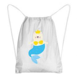 Рюкзак-мішок Cat-mermaid
