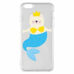 Чехол для iPhone 6 Plus/6S Plus Cat-mermaid