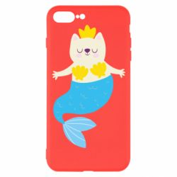 Чехол для iPhone 7 Plus Cat-mermaid