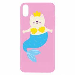 Чохол для iPhone X/Xs Cat-mermaid
