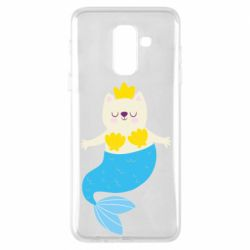 Чохол для Samsung A6+ 2018 Cat-mermaid