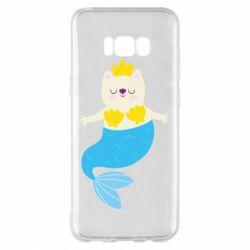 Чохол для Samsung S8+ Cat-mermaid