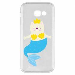 Чохол для Samsung A5 2017 Cat-mermaid