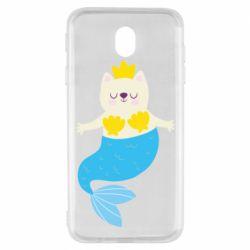Чехол для Samsung J7 2017 Cat-mermaid