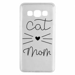 Чохол для Samsung A3 2015 Cat mom