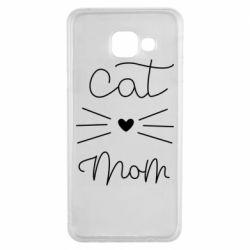 Чохол для Samsung A3 2016 Cat mom