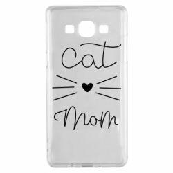Чохол для Samsung A5 2015 Cat mom