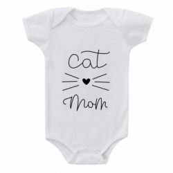 Дитячий бодік Cat mom