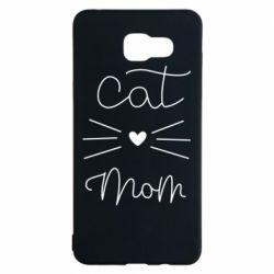 Чохол для Samsung A5 2016 Cat mom